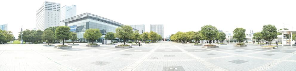 Fototapeta 国際展示場駅前広場(東京ビックサイト周辺)