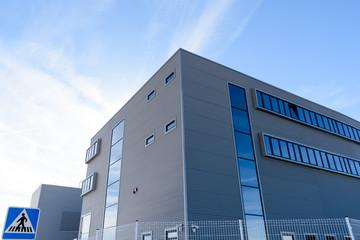 Spoed Foto op Canvas Industrial geb. Exterior industrial warehouse