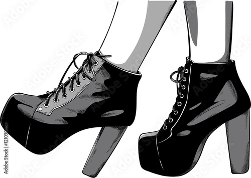 Vector On Tacco Scarpe Image Col Files And Free Stock Royalty 4H01Hzq