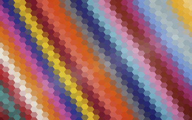 Colored polygons at an angle. Abstract background. vector.