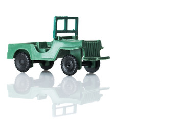 toy military car three