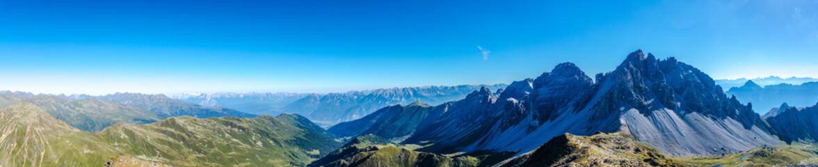 Panorama Kalkkögel Tirol