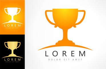 cup champion icon vector illustration