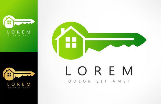 house - key logo