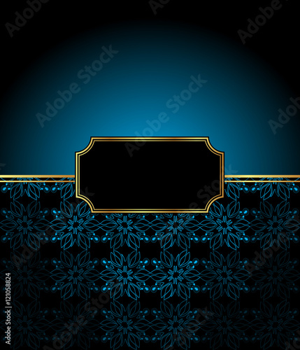 2017 new year invitation on the dinner background for flayer