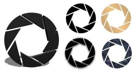 icone diaframma 3D
