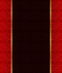 Seamlessly Wallpaper with dark red color tones.
