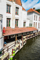 Bruges la Venise du Nord et ses canaux