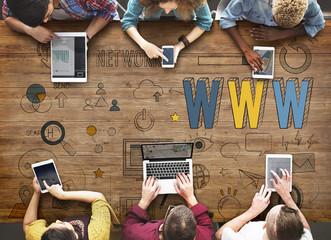 Www Website Internet Online Connection Concept