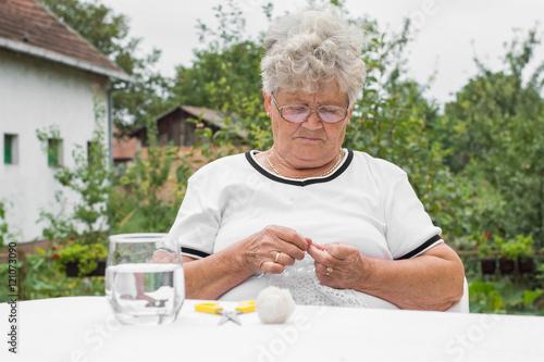 Get Knitting Grandma : Quot grandma knitting stock photo and royalty free images on