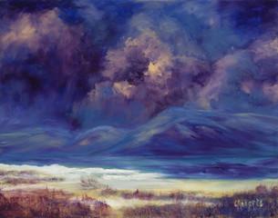 Storm Coming In - original oil painting