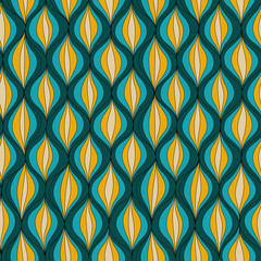 Vector illustration abstract seamless pattern