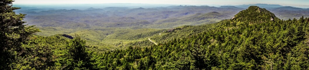 nature trail scenes to calloway peak north carolina