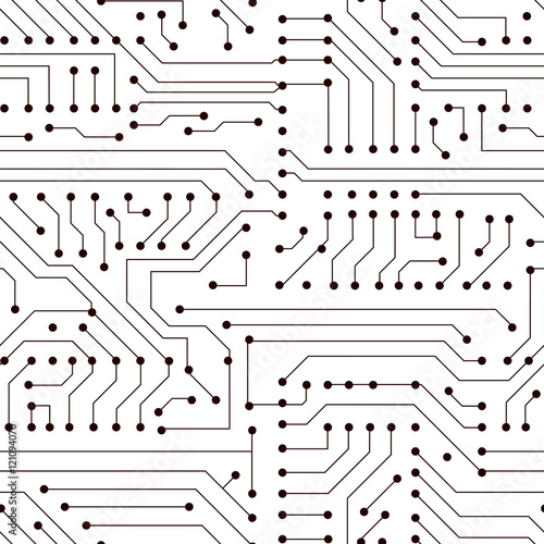 u0026quot vector seamless circuit board pattern u0026quot  stock image and