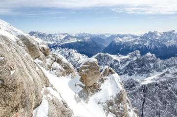 Bergmassiv Hochgebirge