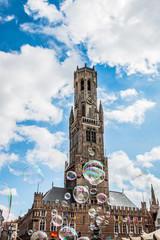 Beffroi de Bruges la Venise du Nord