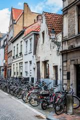 Dans les rues de Bruges la Venise du Nord