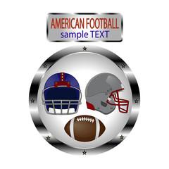 Vector logo illustration for American Football