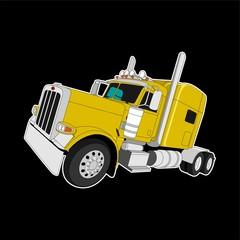 Big Truck Illustration