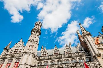 Immeubles de Grand-place de Bruges la Venise du Nord
