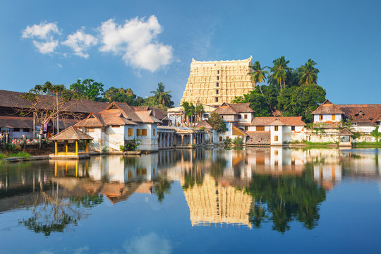 Sri Padmanabhaswamy temple in Trivandrum Kerala India