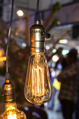 Led filament cob lamp