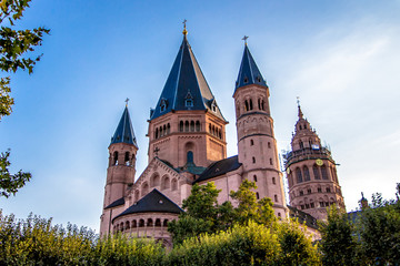 St. Martin's Cathedral in Mainz, Germany