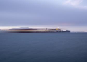 Alcatraz Island and San Francisco Bay