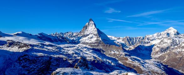 Matterhorn on a clear day