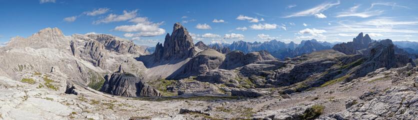 Mountains of the Sesto Dolomites,South Tyrol, italian alps