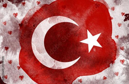 Suluboya Türk Bayrağı Türkiye Stock Photo And Royalty Free Images