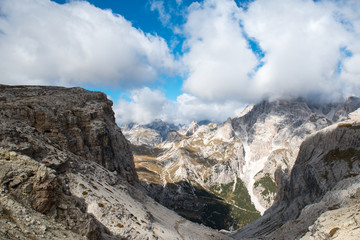 Dolomites in the North of Italy, South Tirol