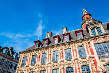 Vieille bourse du vieux Lille