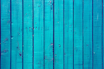 Blue wood texture use as natural background