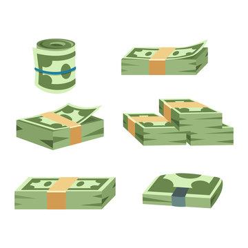 Dollar money symbol vector icon
