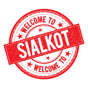 Welcome to SIALKOT Stamp Sign Vector.