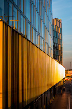 Quartier Euralille, à Lille