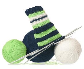 Warm woolen threads