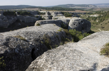 Historical landscape of the Crimean mountains