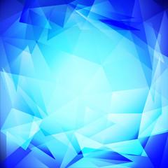 triangle blue white
