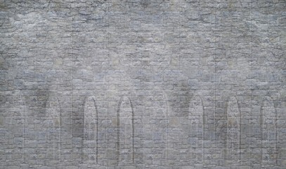 Old Castle Wall Background