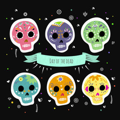 Day of the dead design