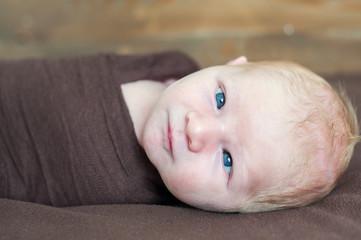 Temporary strabismus newborn baby