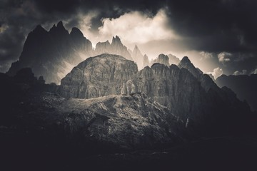 Wall Mural - Dolomites Peaks Scenery