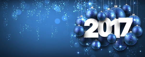2017 new year blue banner stock image and royalty free vector files on fotoliacom pic 121215069