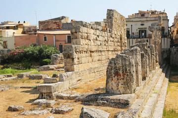 Temple of Apollo Syracuse Sicily Italy