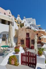 Beautiful oia village , Santorini