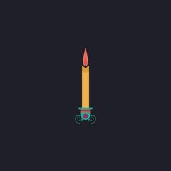 candle computer symbol