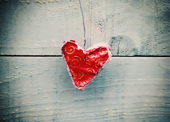 Decorative handmade heart