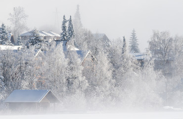 Winterliche Idylle